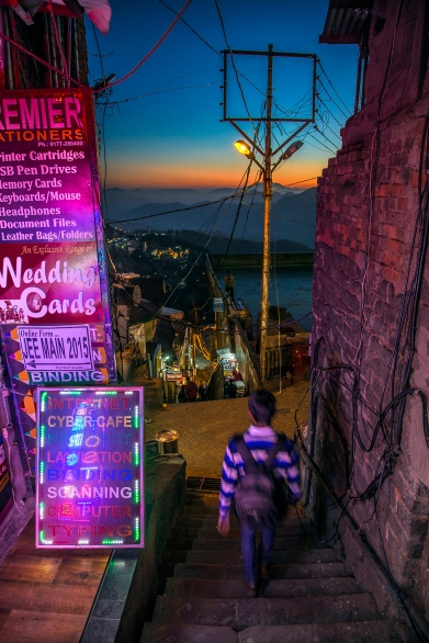 Beyond the glitsy Mall Road and the Ridge, the citizenry live, work and play in Shimla's narrow and steep lanes.