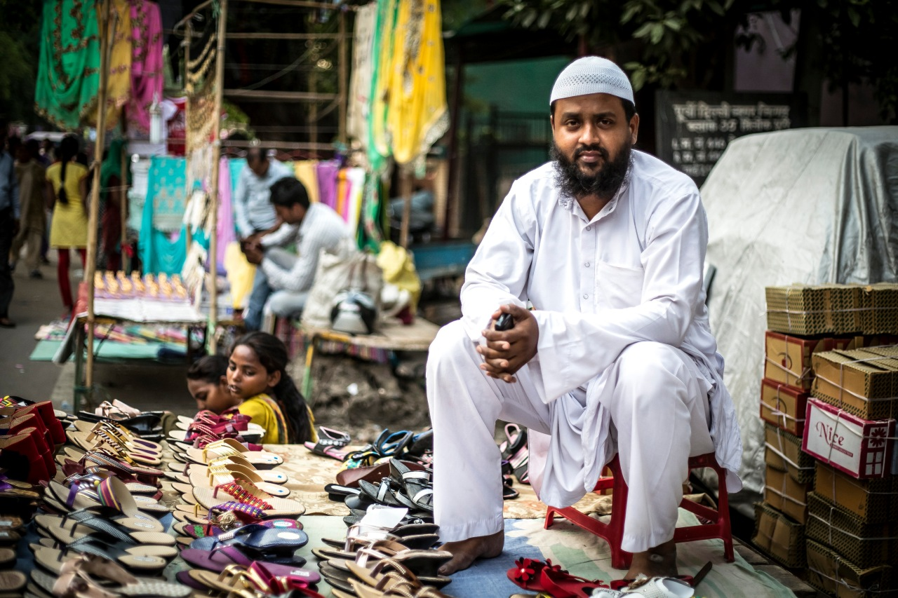 For Gufran Attari, who sells women's footwear in Trilokpuri, yoga is an excellent form of exercise but political agendas should be kept out of it.